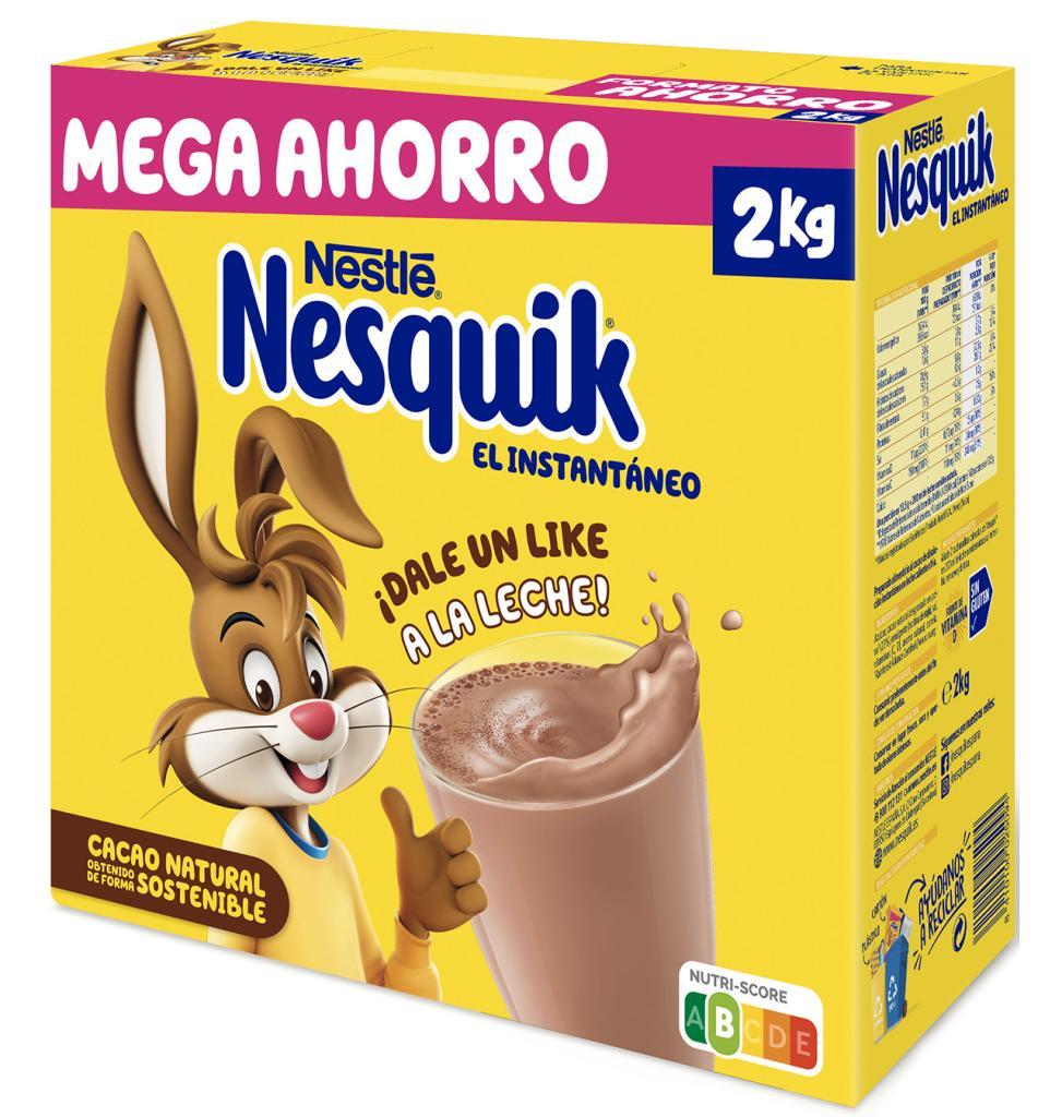Comprar Cacao Soluble Nestlé Nesquik Instantáneo Estuche 2 Kg Cacao En Condisline