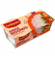 ARROZ BRILLANTE REDONDO 2 VASITOS DE 250 G