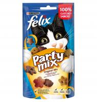 SNACK GAT PURINA FELIX PARTY MIX 60 G