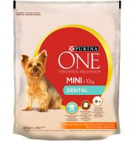 MENJAR GOS PURINA ONE MINI DENTAL 800 G