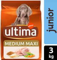 COMIDA DOG ULTIMA MEDIUM JUNIOR 3 KG