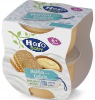 NATILLAS HERO BABY MERIENDA GALLETA 2 X 130 G