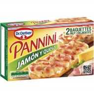 PANNINI DR. OETKER JAMÓN Y QUESO 250 G