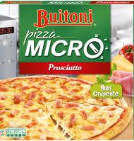 PIZZA MICRO BUITONI JAMÓN Y QUESO 315 G