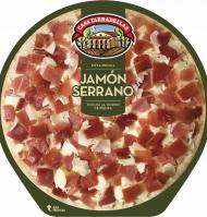 PIZZA TARRADELLAS JAMON SERRANO 410 G
