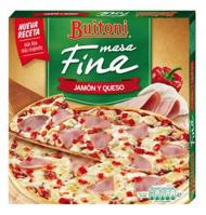 PIZZA FINA BUITONI JAMÓN Y QUESO 320 G