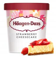 TERRINA HÄAGEN-DAZS STRAWBERRY-CHEESE 400 G