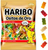 GOMINOLES HARIBO OSSETS D'OR 100 G