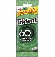 CHICLE TRIDENT + 60 HIERBABUENA 3 UNI