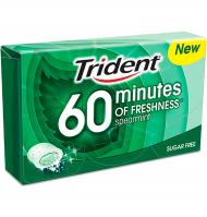 CHICLE TRIDENT +60 HIERBABUEN 1 PAQUETE