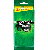 CHICLE TRIDENT SENS HIERBABUENA 3 PAQUETES