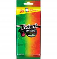 CHICLE TRIDENT SENS WATERMELON 3 PAQUETES