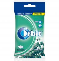 CHICLE ORBIT EUCALIPTO PACK 4 UNIDADES