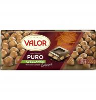 CHOCOLATE VALOR PURO AVELLANA 250 G