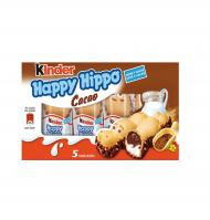 SNACK KINDER HAPPY HIPPO CACAO 5 UNIDADES