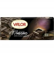 CHOCOLATE VALOR NEGRO 70% 200 G
