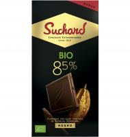 CHOCOLATE SUCHARD BIO 85% 90 G
