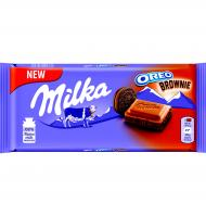 CHOCOLATE MILKA OREO BROWNIE 100 G