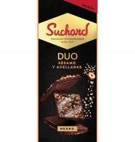 CHOCOLATE SUCHARD DUO SÉSAMO AVELLANAS 101 G