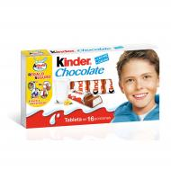 SNACK KINDER CHOCOLATE 16 UNIDADES 200 G