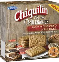 GALLETAS CHIQUILÍN CEREALES 260 G