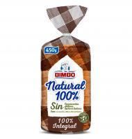 PA MOTLLE BIMBO NATURAL 100% INTEGRAL 450 G