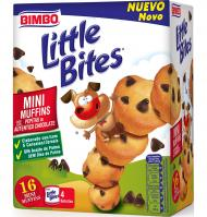 MINI MUFFINS BIMBO LITTLE BITES 188 G