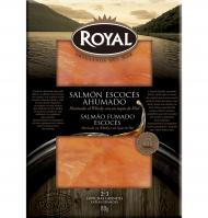 SALMÓN AHUMADO ROYAL WHISKY/MIEL 80 G