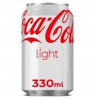 COCA-COLA LIGHT LATA 33 CL
