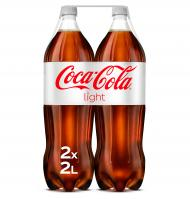 COCA-COLA LIGHT 2 L 2 UNIDADES
