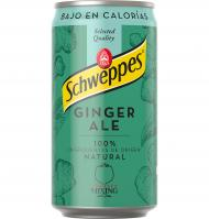 GINGER ALE SCHWEPPES LATA 250 ML