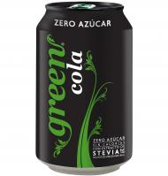 GREEN COLA STEVIA LATA 33CL