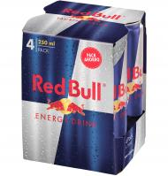 REFRESCO RED BULL ENERGY DRINK 4 UNIDADES