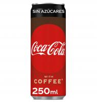COCA-COLA PLUS COFFEE SIN AZÚCAR 25 CL