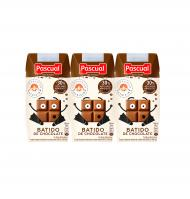 BATIDO PASCUAL CHOCOLATE MINI 3 UNIDADES X 200 ML