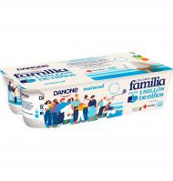 YOGUR DANONE NATURAL 8 UNI