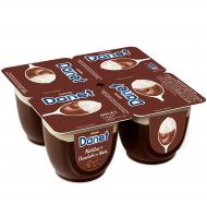 NATILLAS DANONE DANET DOBLE PLACER CHOCOLATE Y NATA 4 UNI