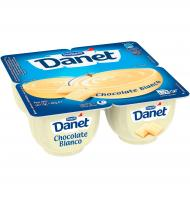 NATILLAS DANONE DANET CHOCOLATE BLANCO 4 UNI