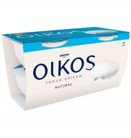 YOGUR DANONE OIKOS NATURAL 4 UNI