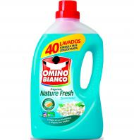 DETERGENT LÍQUID OMINO BIANCO NATURE FRESH 40 DOSIS