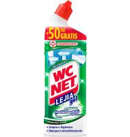 LEJÍA WC NET GEL VERDE 750 ML