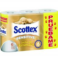 HIGIENICO SCOTTEX SENSITIVE 6 UNI