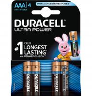 PILAS DURACELL AAA LR03 ULTRA 4 UNIDADES
