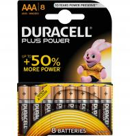 PILAS DURACELL AAA LR03 8 UNIDADES