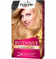 PALETTE INTENSE COLOR CREAM 8 RUBIO CLARO 1 UNIDAD