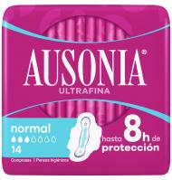 AUSONIA AIR DRY ALAS NORMAL 14 UNIDADES