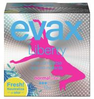 COMPRESA EVAX LIBERTY NORMAL CON ALAS 12 UNIDADES