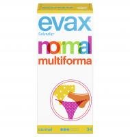 SALVASLIP EVAX NORMAL-MULTIFORMA 34 UNITATS