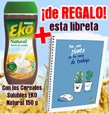 Cereales Solubles Eko Natural 75 grs + Libreta de regalo