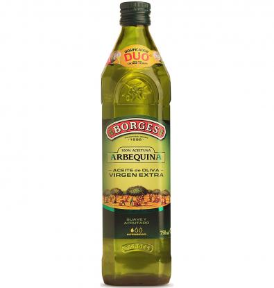 ACEITE DE OLIVA BORGES VIRGEN EXTRA ARBEQUINA 75 CL